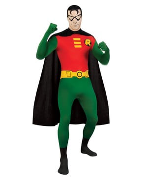 Робін другий костюм для дорослих шкіри