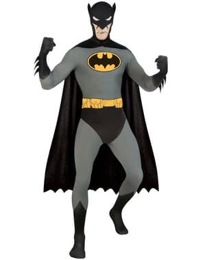 Batman Second Skin Kostyme Voksen