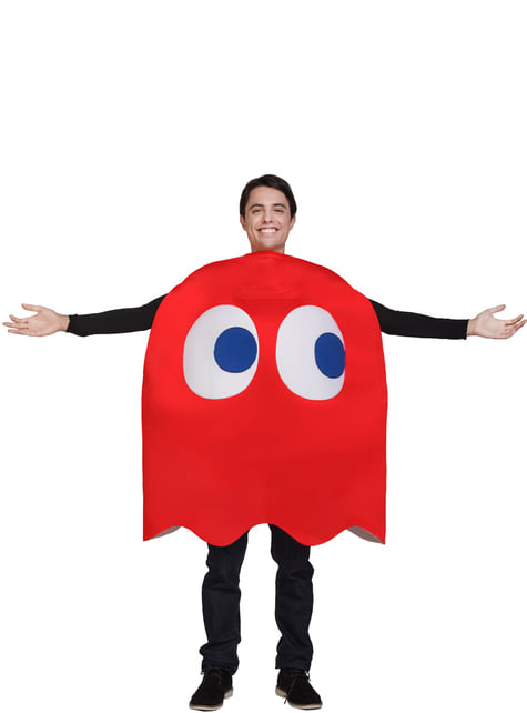 Fato de Fantasma Blinky - Pac-Man
