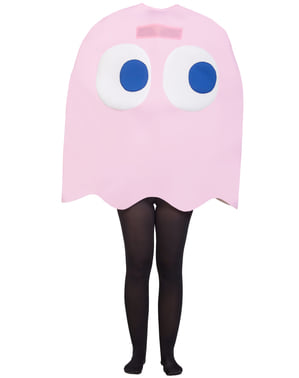 Fato de Fantasma Pinky - Pac-Man