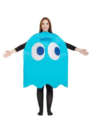 Pac-Man Inky Spøkelse kostyme