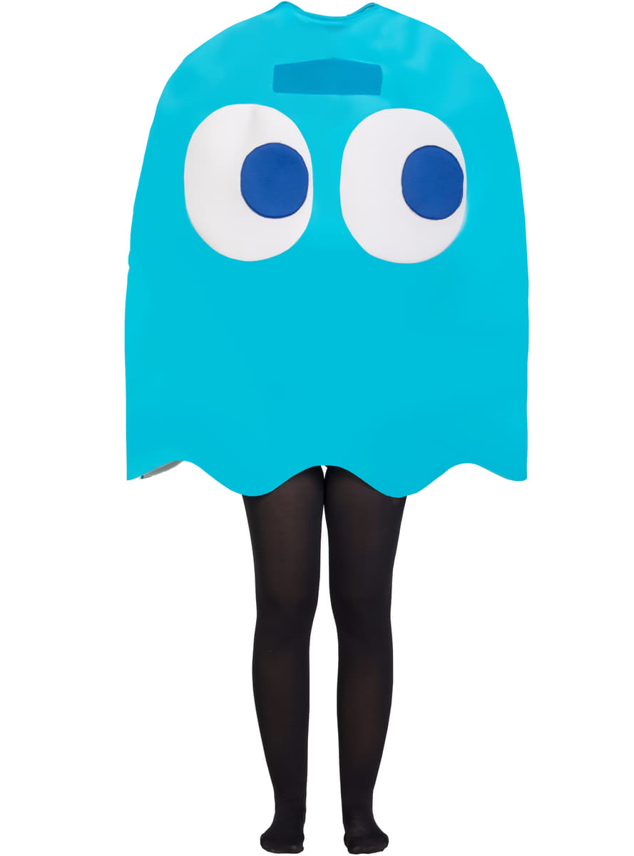 Costume da Fantasma Inky per Adulto - Pac Man. I più divertenti ... 2e3e6183b2a9