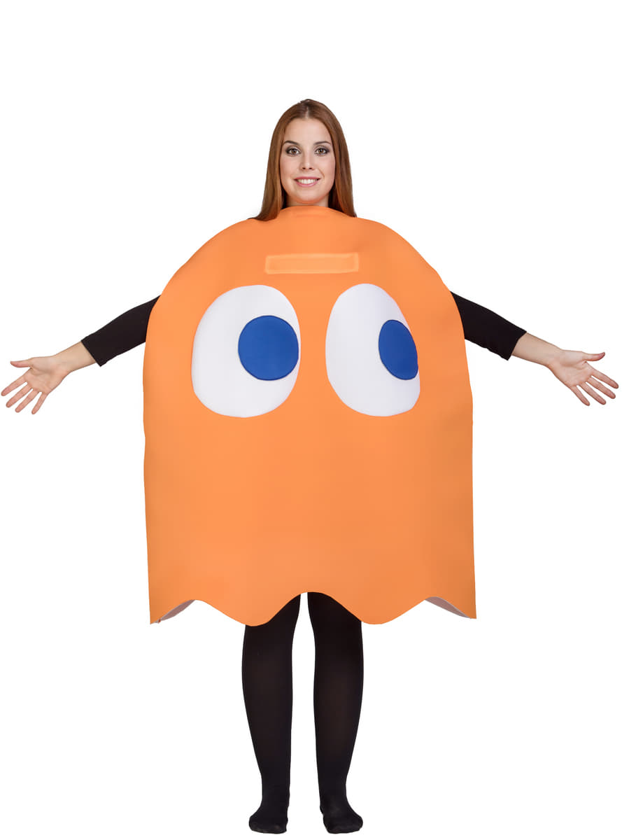 Pac-Man Clyde Ghost Costume for adult  sc 1 st  Funidelia & Pac-Man Clyde Ghost Costume for adult. Fast delivery | Funidelia
