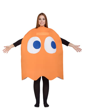 Costume da Fantasma Clyde - Pac-Man