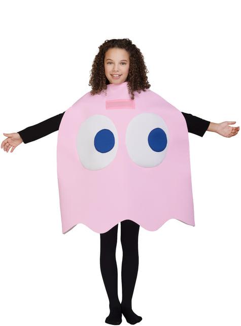 Disfraz de Fantasma Pac-Man Pinky Infantil
