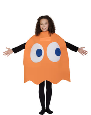 Otroci Clyde Ghost Costume - Pac-Man