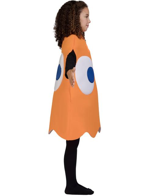 Disfraz de Fantasma Pac-Man Clyde Infantil - traje
