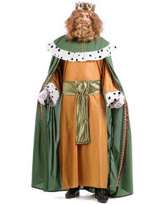 Disfraz de Rey Mago Gaspar classic para hombre
