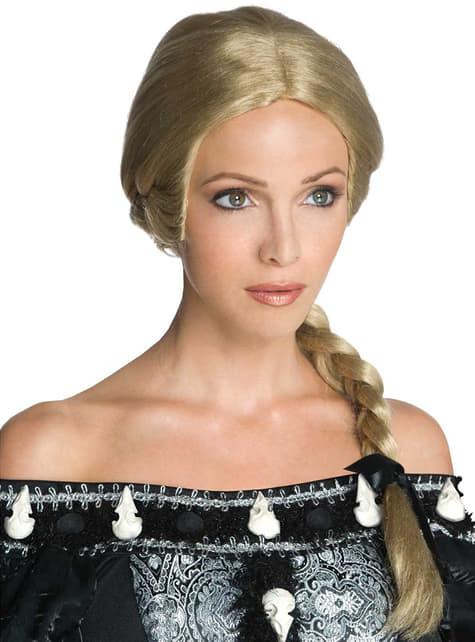 Peruca de Reina Ravennade Branca de Neve e a Lenda do Caçador para adulto