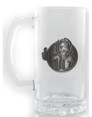 Fallout Vault Boy Halvliter glass