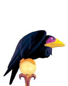 Maleficents Rabe aus Dornröschen