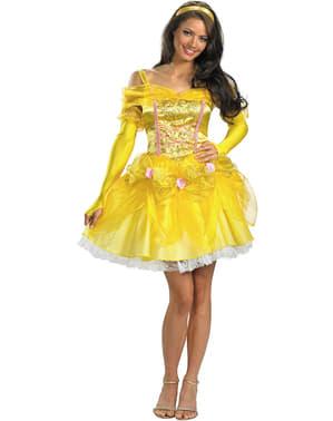 Sexy Belle kostuum uit Belle en Het Beest