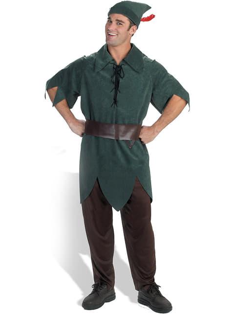 Fato de Peter Pan para adulto
