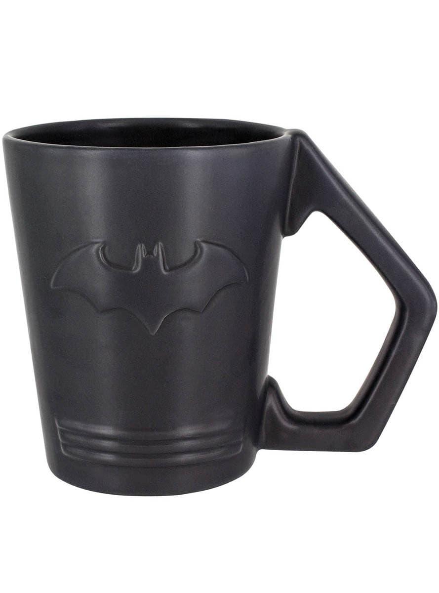 tasse batman logo mattschwarz offizielle f r fans funidelia. Black Bedroom Furniture Sets. Home Design Ideas