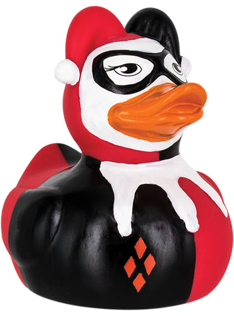 Harley Quinn rubber duck 9 cm