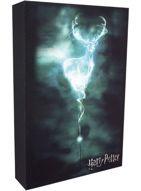 Quadro artwork retroiluminado de Harry Potter