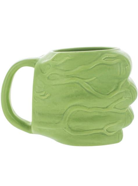Tasse Hulk Form einer Faust 3D