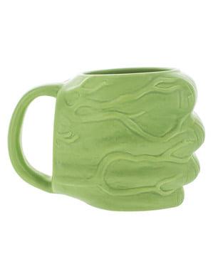 Tazza di Hulk forma di pugno 3D