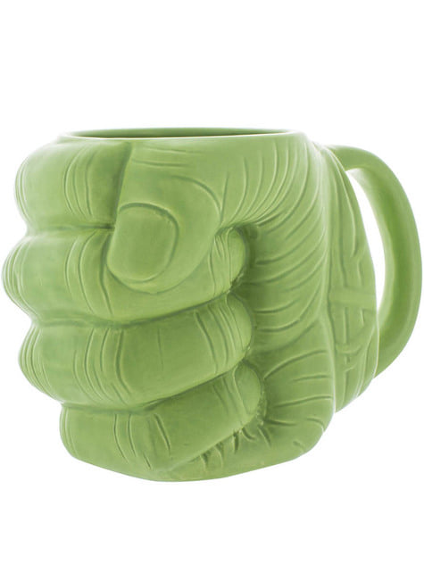 Taza de Hulk forma de puño 3D