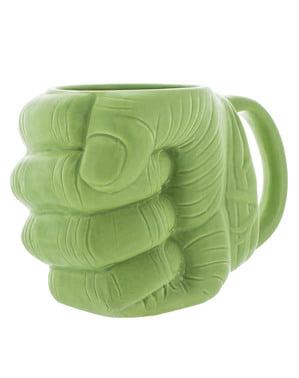 Mug Hulk en forme de poing 3D