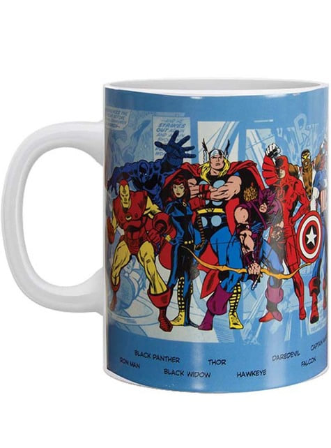 Tasse Marvel Comics Charaktere