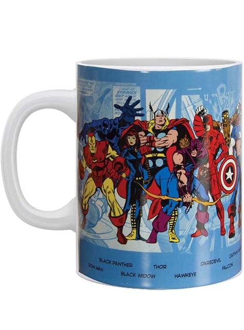 Taza de Marvel Comics personajes