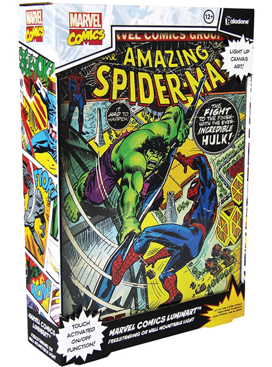 Backlit Marvel Comics Artwork Painting Official For Fans Funidelia