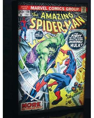 Lukisan karya seni komik Marvel