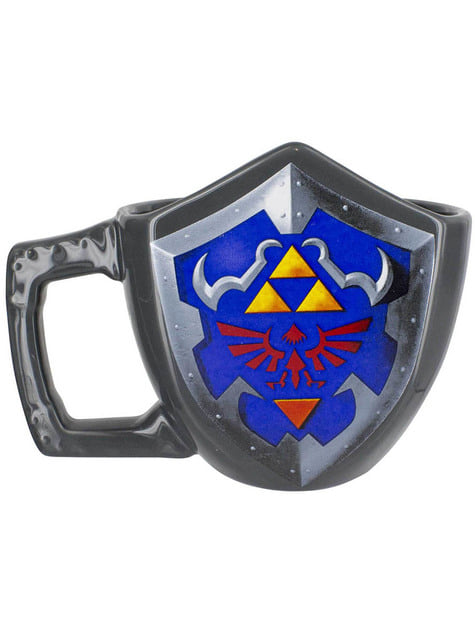 Mug The Legend of Zelda bouclier 3D