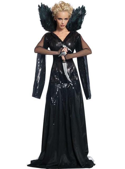 Kostým kráľovná Ravenna z filmu Snehulienka a lovec (pre dospelých)