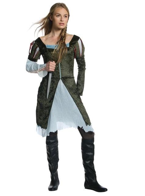 Costum Albă ca Zăpada și Războinicul Vânător