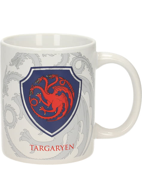 Mug Game of Thrones symbole Targaryen