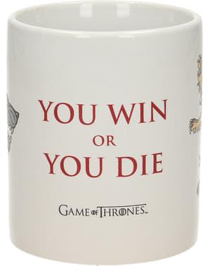 ゲーム・オブ・スローンズあなたが勝つか死ぬかマグカップ