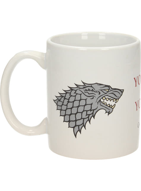 Taza de Juego de Tronos You win or you die - oficial