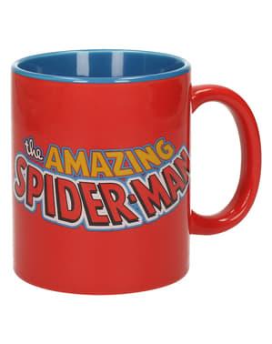 Hrnek klasické logo Spiderman