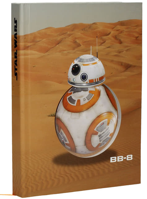 BB-8 Star Wars: Episode VII notebook with light, sound and movement