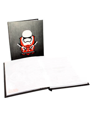 Stormtrooper Helmet Star Wars: Episode VII notebook wit light