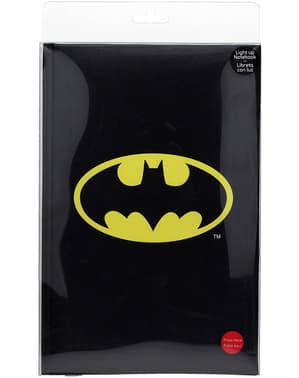 Libreta grande de Batman 19 x 29 cm con luz
