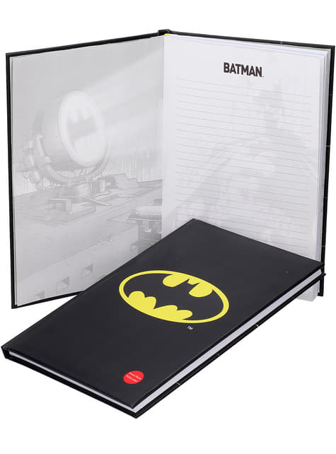 Grand Carnet Batman 19 x 29 cm lumineux
