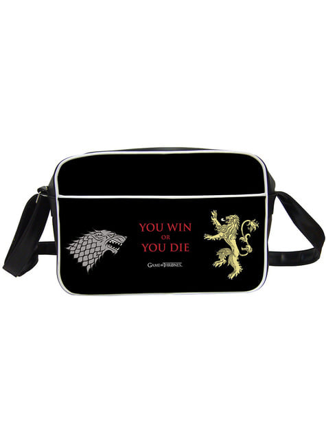 Game of Thrones You Win or You Die shoulder bag