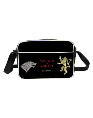 Borsa tracolla di Game of Thrones You win or you die