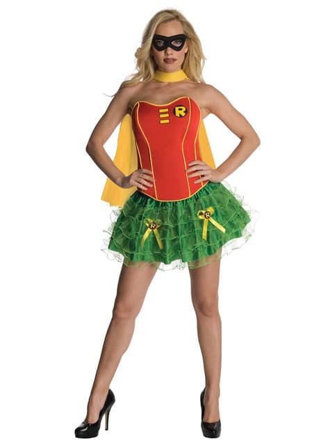 Fato de Robin de Batman para mulher Secret Wishes