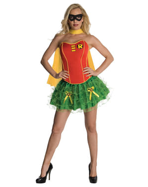 Бетмен Робін Секрет Бажає Жінка Дорослий костюм