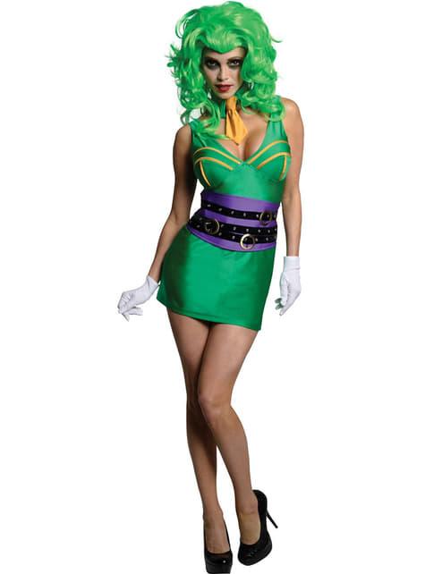 Batman The Joker Kostyme Voksen Dame