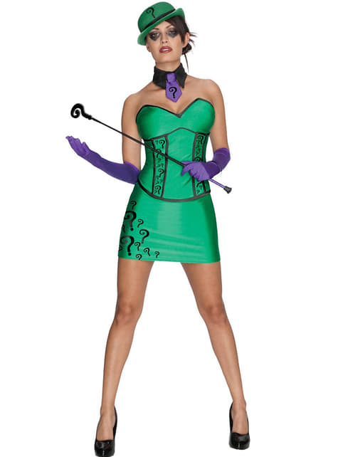 Disfraz The Riddler Batman para mujer