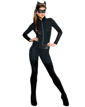 The Dark Knight Riese kattedame kostyme voksen