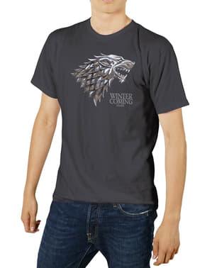 Game of Thrones: Stark metallilogo t-paita