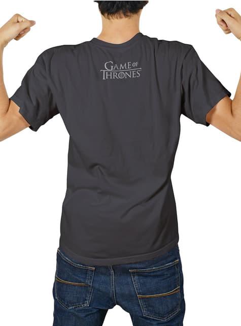 Camiseta de Juego de Tronos Logo Stark metálico packaging premium - hombre