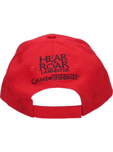 Gorra de Juego de Tronos logo Lannister