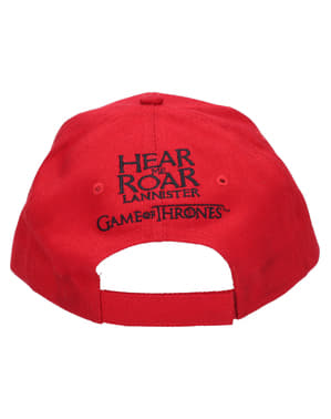 Game of Thrones Lannister logo cap